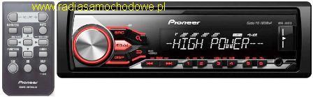 Pioneer MVH-280FD 4x100W