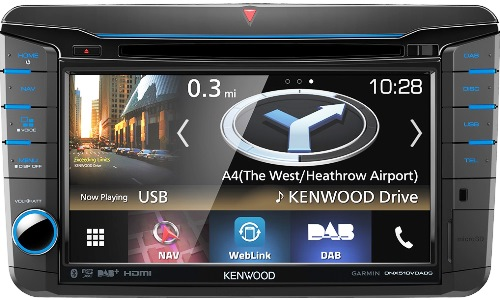 KENWOOD DNX518VDABS for VW Golf-6+inne +SEAT+SKODA