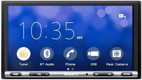 SONY XAV-AX3005 DAB z CarPlay + Android Auto