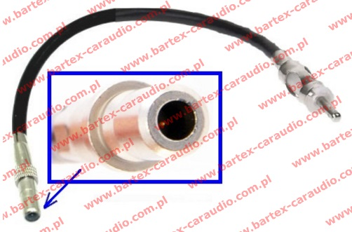 Chevrolet CAPTIVA +inne Gen.Mot. Złącze antenowe DIN +kabel