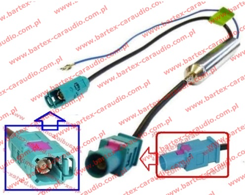 # Separator antenowy FAKRA-gn<->FAKRA-wt