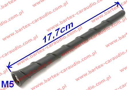 Maszt anteny samochodowej (17.7cm) Hyundai+KIA +inne