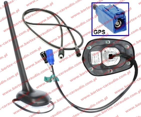 Antena na dach tył do TOYOTA Corolla 2004-> FM/AM+GPS