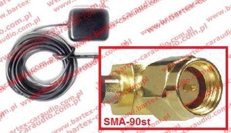 Antena GPS magnetyczna ze złączem SMA-90st
