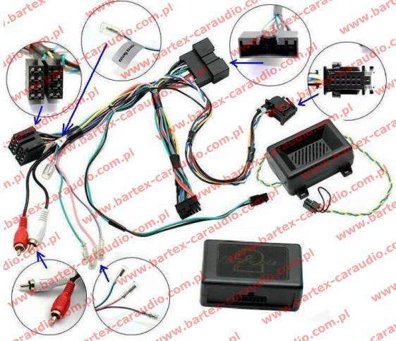 Sterowanie radiem z kierownicy MAZDA CTSMZ013.2 STALK ADAPTER