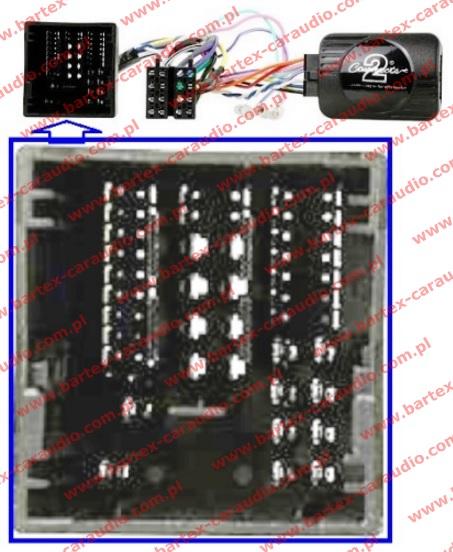 Sterowanie radiem z kierownicy PEUGEOT CTSPG018.2 STALK ADAPTER