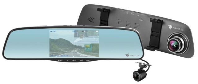 Wideorejestrator NAVITEL MR250 DVR +lusterko+kam.cofania