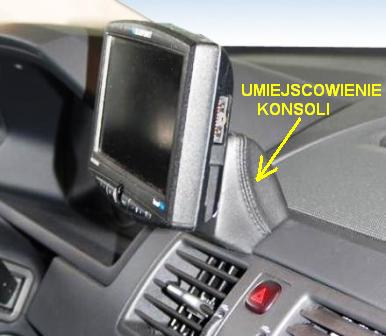 KUDA -konsola do VOLVO XC90 for:GPS
