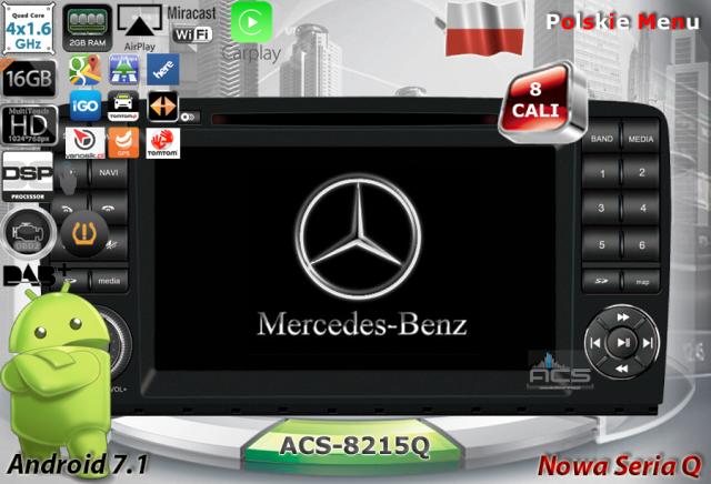 """ACS Nawigacja do Merc.R-klasa W251 2005-> z ANDROID +LCD-8"""""""
