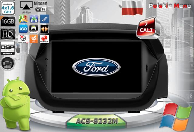 ACS Nawigacja do FORD Ecosport 2013-> z ANDROID