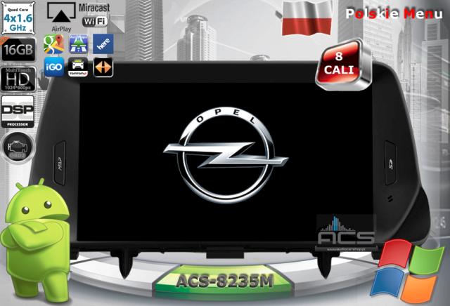 ACS Nawigacja do Opel MOKKA 2012-> z ANDROID