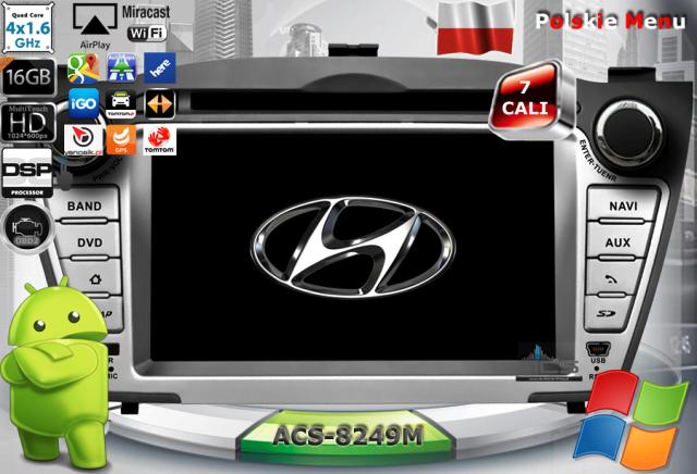 ACS Nawigacja do Hyundai iX35 2009-2013 z ANDROID
