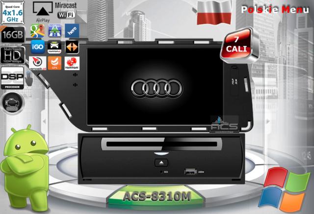 ACS Nawigacja do AUDI A4 + A5 2007-> z ANDROID