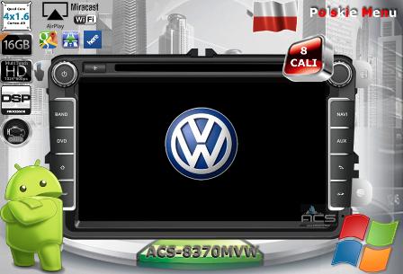 ACS Nawigacja do Volkswagen 2008-> +SKODA +SEAT