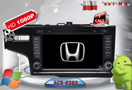 ACS Nawigacja do Honda JAZZ 2015-> +inne