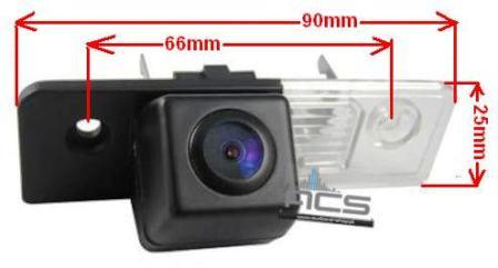 Kamera cofania do Skoda OCTAVIA-2 2008-2013 +inne (ACS)