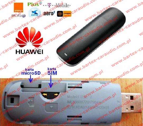 ACS modem 3G Huawei do internetu