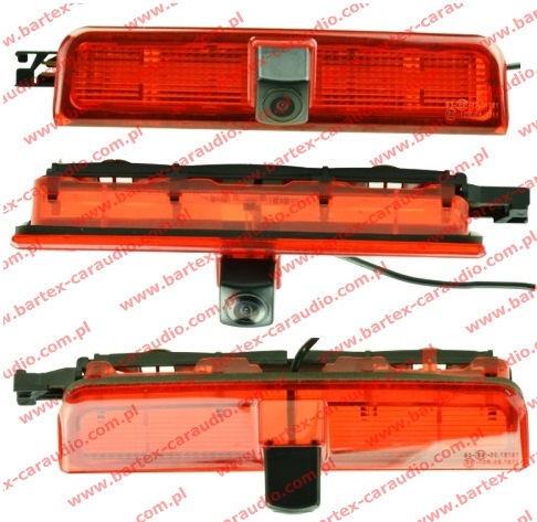 Kamera Cofania do VW Caddy 2004-2017 dach-tył +św.STOP