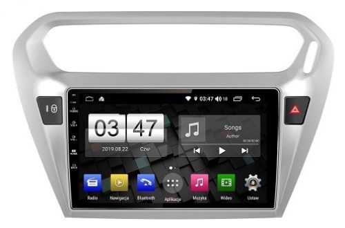 GMS Nawigacja do Citroen C-ELYSEE + Peugeot 301 z ANDROID +LCD-9