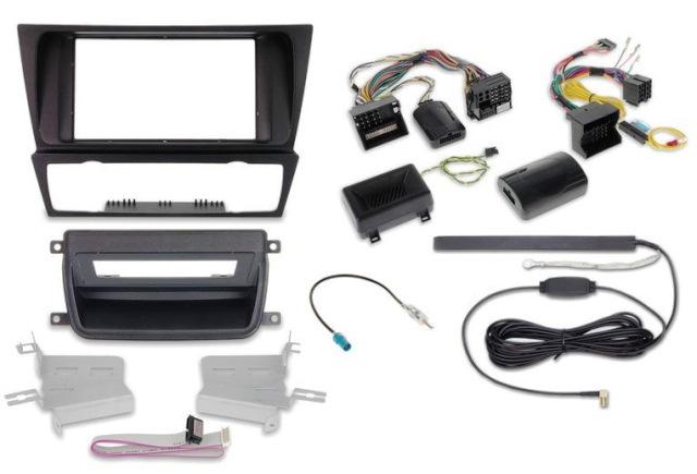"""BMW-3 E90 +inne z CLIMATRONIC ramka pod radio ALPINE z LCD-7"""""""