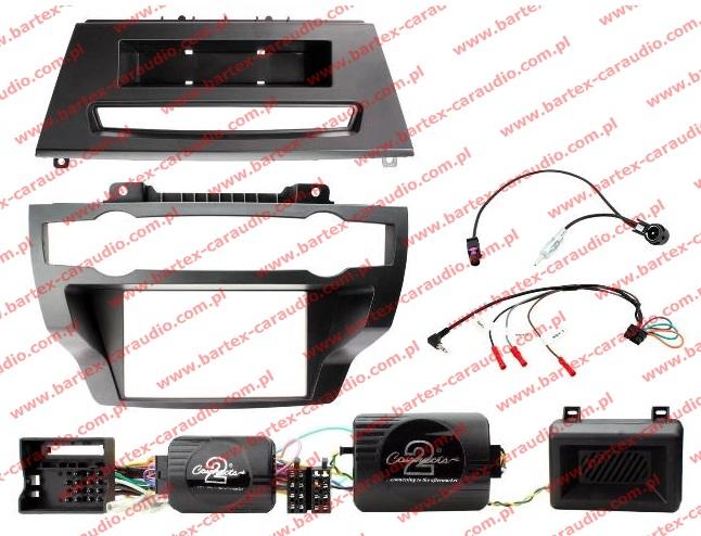 BMW-X5 E70 2007-2013 + X6 zestaw #2 do mont.radia 2DIN