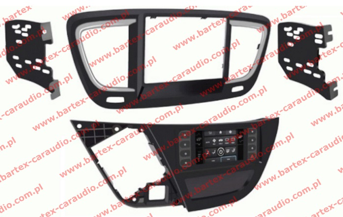 CHRYSLER Pacifica 2015-> ramka pod radio 2DIN