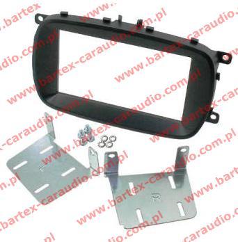 Fiat 500X 2014-> ramka EU +mocowanie do radia 2DIN