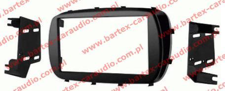 Fiat 500X 2014-> ramka USA +mocowanie do radia 2DIN