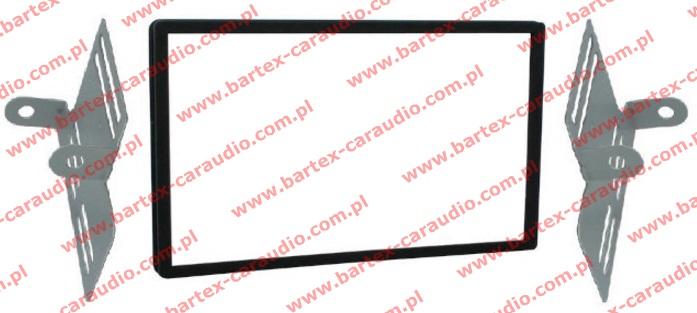 Honda BRIO 2009-> +inne Ramka pod radio 2DIN