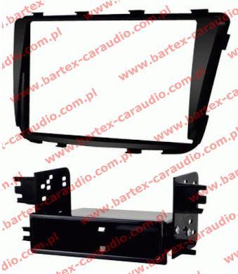 Hyundai ACCENT 2012-> ramka pod radio 1DIN lub 2DIN