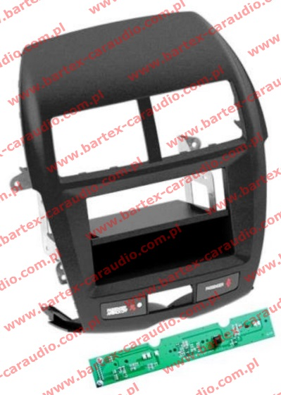 Mitsubishi ASX 2010-2016 ramka-konsola pod radio 1DIN