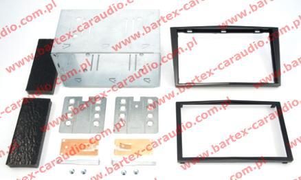 Opel ANTARA 2006-> ramka+półkieszeń pod radio 2DIN