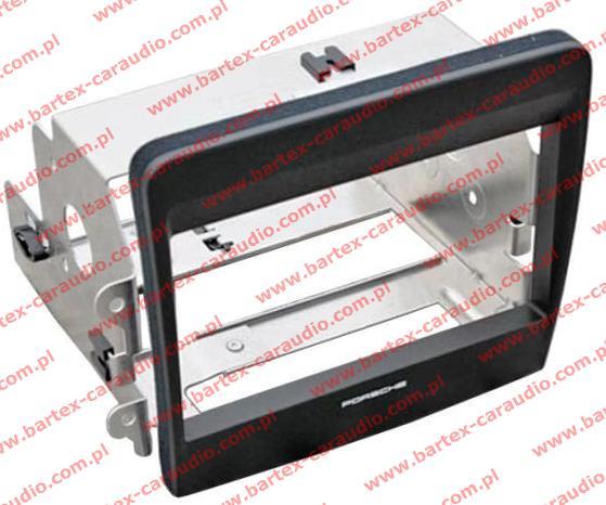 Porsche Boxster 2012-> mod.981 ramka+mocowanie do radio 2DIN