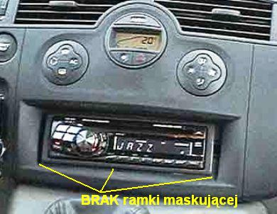 Ramki Radiowegłośnikowe Renault Renault Megane 2 2002 2008