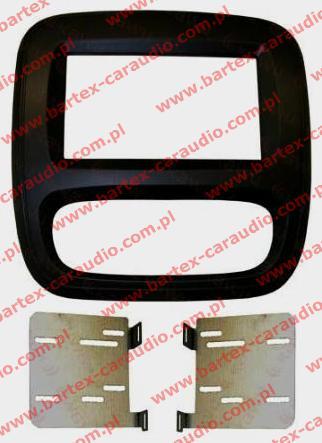Opel VIVARO 2014-> ramka #2 pod radio 2DIN