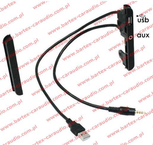 """Toyota 2000-> różne modele Ramki pod radio 2DIN z LCD-7""""+USB+AUX"""