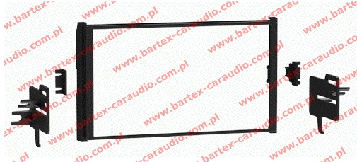 "Toyota COROLLA gen.XII 2019-> ramka pod radio 2DIN Pioneer-8"""