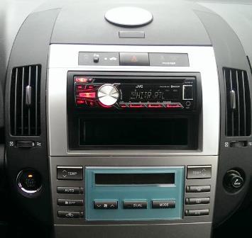 ○ ramki radiowe+głośnikowe, toyota, toyota corolla verso 2004