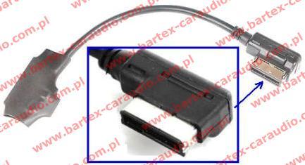 AUDI 2008-> radio fabryczne z MMi-3G - AUX-Bluetooth