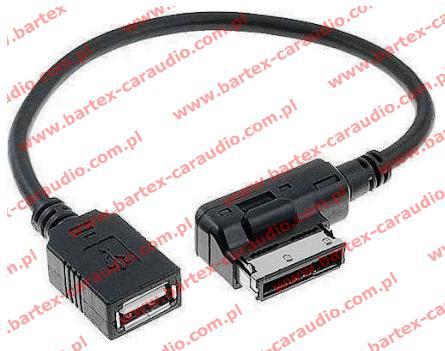 Volkswagen 2008-> radio fabryczne z MDi AUX-USB