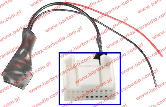 TOYOTA radio fabryczne gn.20Pin AUX-Bluetooth