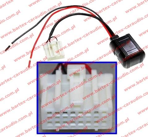 MAZDA 2006-> radio fabryczne - AUX-Bluetooth