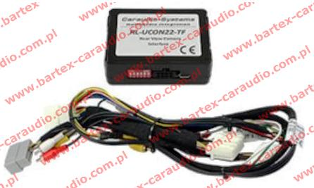 CHRYSLER +inne z Uconnect 22Pin Interfejs VIDEO-In do Kam.Cofani