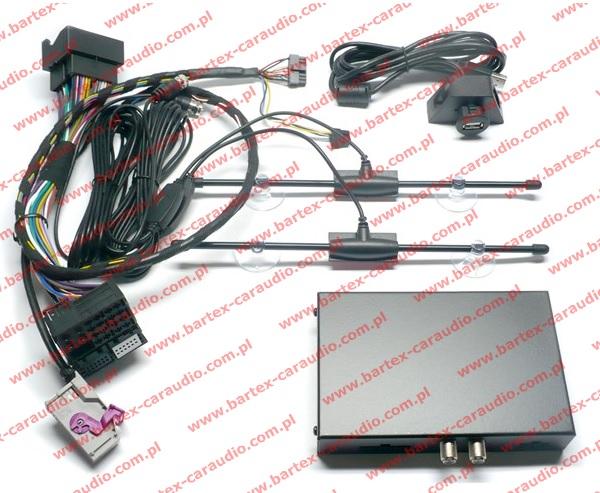 AUDI A4+A6+TT+inne z RNS-E interfejs Audio-Video_In z DVB-T