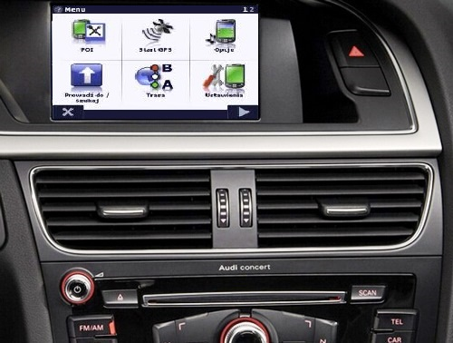 AUDI A5+Q5+A4 2007-2015 bez MMi Interfejs VIDEO-In+NAVI