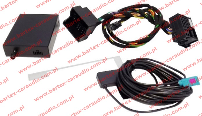 Tuner DAB+ z adapterem do VW-RCD310 + SKODA-Swing +inne