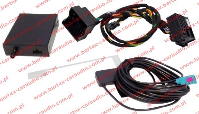 Tuner DAB+ z adapterem do AUDI CONCERT