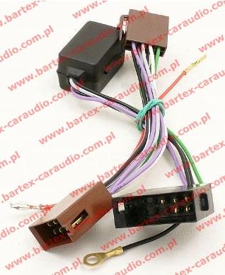 Złącze do AUDI 1972-1997 Konwerter do systemu audio