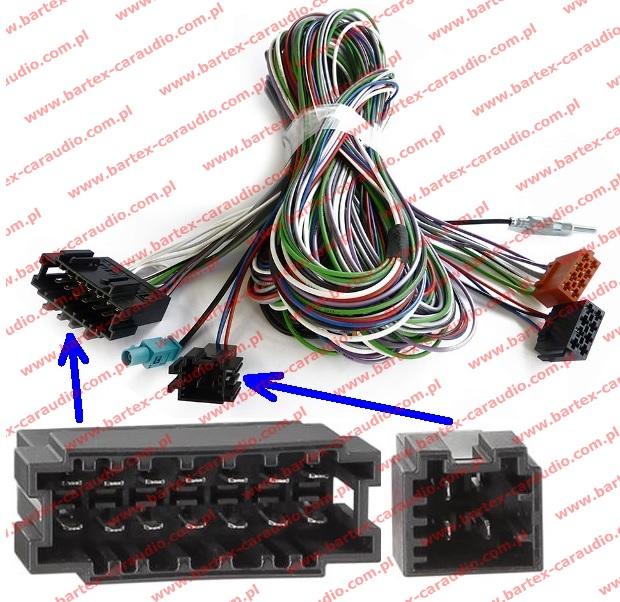 Złącze do Merc.E-klasa W211 2002-2008 +inne okablowanie do ACTIV