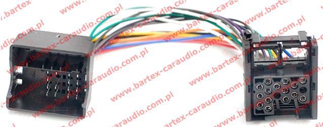 Złącze do BMW 2001-2010 <-> radio fabryczne mod.1985-2003